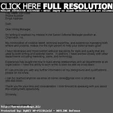 brilliant ideas of how to write an unadvertised job cover letter