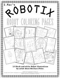 s mac u0027s robotix u2013 robot coloring pages u2013 downloadable coloring