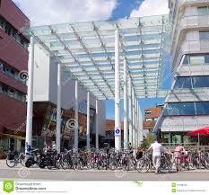 shoing canap glass wind canopy editorial photo image of city wind 47338136