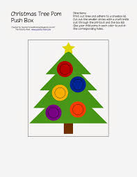 the activity mom christmas tree push box printable