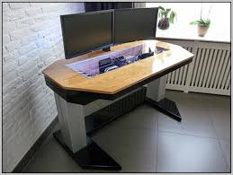 Gaming Desk Plans Custom Computer Desk Plans Design Decoration