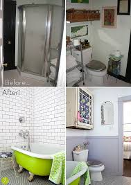Before After Bathroom Makeovers - before u0026 after 10 inspiring bathroom makeovers curbly