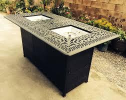 Outdoor Propane Firepit Outdoor Propane Pit Bar Height Burner Table Elisabeth