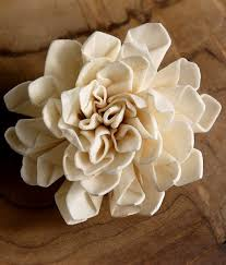 sola flowers these are beautiful handmade flowers it is a soft wood so you can