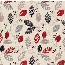 Patterned Roman Blinds Red Black Grey Beige U0026 Cream Leaves Patterned Roller Blinds