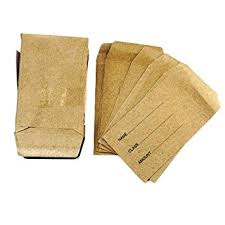 seed envelopes dinner money seed envelopes pack of 50 small gummed manilla