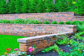 How To Build A Stone by How To Build A Stone Retaining Wall January 2018