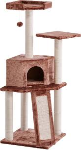 frisco 52 inch cat tree brown chewy