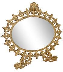 Antique Vanity Mirror Vintage Standing Gilt Vanity Mirror Chairish
