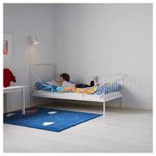 Toddler Bed With High Sides Minnen Ext Bed Frame With Slatted Bed Base Ikea