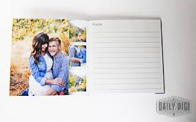 customizable guest books affordable and easy custom wedding guest book diy the daily digi