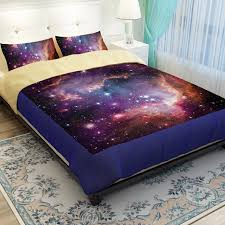 Galaxy Themed Bedroom Hipster Galaxy Bedding Set Universe Outer Space Themed Galaxy