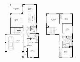 floor plans with measurements 2 story house floor plans with measurements lovely storey 4