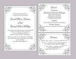 wedding registry templates wedding photo invitation templates invitation template diy photo