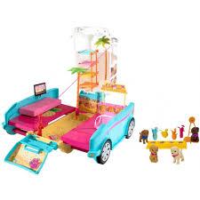 Barbie Kitchen Set For Kids Barbie Ultimate Puppy Mobile Walmart Com