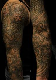 year of the monkey sleeve tattoo design photos pictures and
