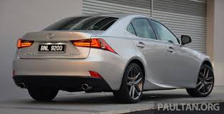 lexus is 200t price in malaysia driven lexus is 200t turbo u2013 downsized at a price image 421470