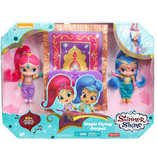 Fisher Price Doll House Furniture Fisher Price Shimmer And Shine Magic Flying Carpet Walmart Com