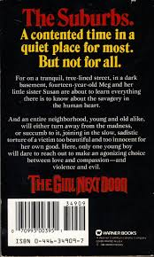 too much horror fiction the next door by jack ketchum 1989