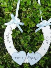 personalized horseshoes wedding gift decorated horseshoe wedding horseshoes