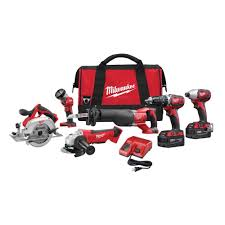 home depot combo tool black friday milwaukee m18 18 volt lithium ion cordless combo kit 6 tool 2696