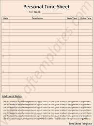 time sheets templates