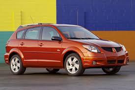 Pontiac Vibe Interior Dimensions 2003 08 Pontiac Vibe Consumer Guide Auto