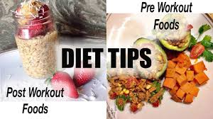 pre and post workout food youtube