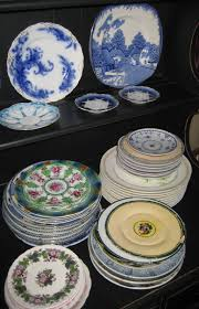 collecting antique and vintage plates and dishware hobbylark