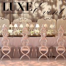 event rentals luxe event rentals luxeeventrental