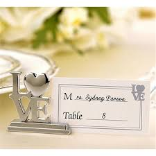 online get cheap place card holder wedding decoration centerpieces
