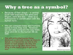 tree symbolism speak trees