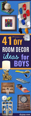 Room Decor For Boys 41 Creative Diy Room Decor Ideas For Boys Diy