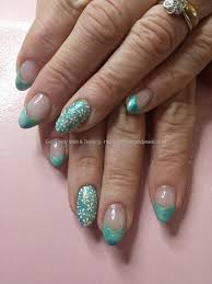 collection mint green nail art pictures lotki soft and pretty