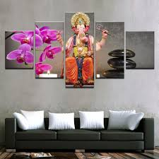 Decorative Paintings For Home by Online Get Cheap Ganesh Painting Modern Aliexpress Com Alibaba