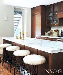 Kitchen Marble Countertops by Best 25 Dark Wood Kitchens Ideas On Pinterest Beautiful Kitchen