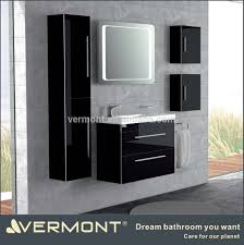 Bathroom Furniture Black Acrylic Bathroom Cabinet Acrylic Bathroom Cabinet Suppliers And