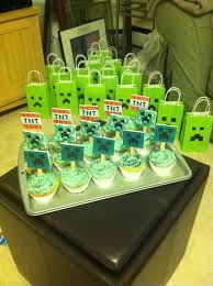 minecraft goody bags 17 best images about mindcraft cake ideas on