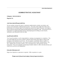 Administrative Assistant Duties For Resume Dbq 16 Why Did We Enter World War 1 Essay Best Dissertation