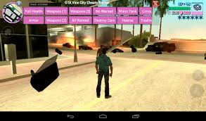 vice city apk gta vice city cheats trainer free of android version