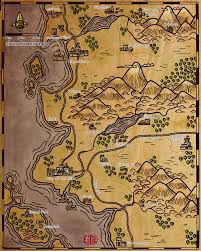Forgotten Realms Map Map 58 Somewhere In The Sword Coast Elven Tower