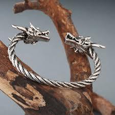 online shop chengxun open cuff jewelry men boys bangle viking
