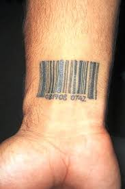 barcode tattoo images u0026 designs