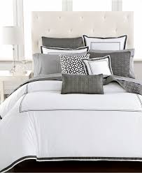 Embroidered Bedding Sets Bedroom Sheridan Bedding Hotel Collection Tuxedo Embroidery