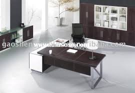 Leather Office Desk Emejing Executive Office Desk With Return Contemporary