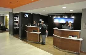 Front Desk Reception Front Desk Reception Check In Area Of Courtyard By Marriott Jersey