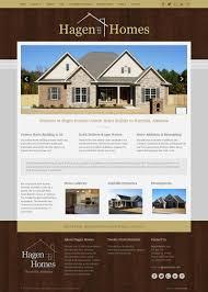 home renovation websites custom joomla template webdesign for hagen homes llc in