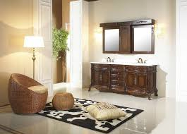 Antique Style Bathroom Vanities by Antique Wooden Bathroom Vanity With Aesthetic Carving