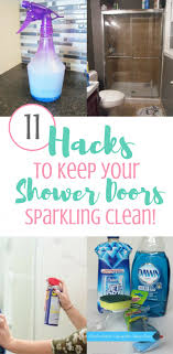 How To Keep Shower Door Clean 11 Hacks To Keep Your Shower Doors Clean Shower Doors Doors And