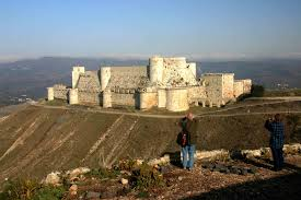 Krak Des Chevaliers by The Old Levant To Latakia Via Krak Des Chevaliers And Ugarit